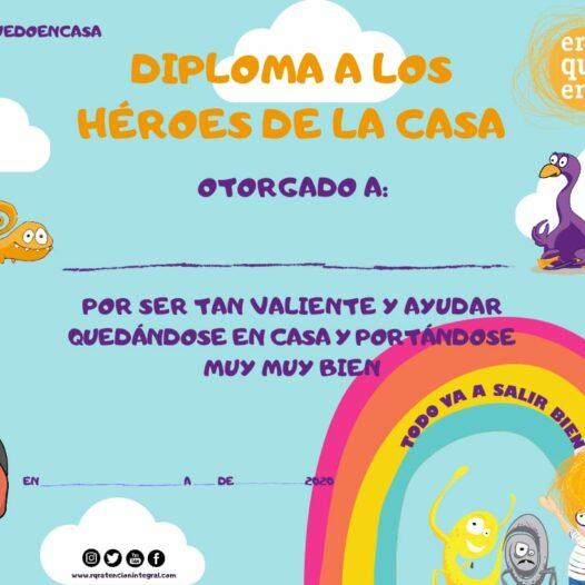 Diploma a los Héroes de la Casa